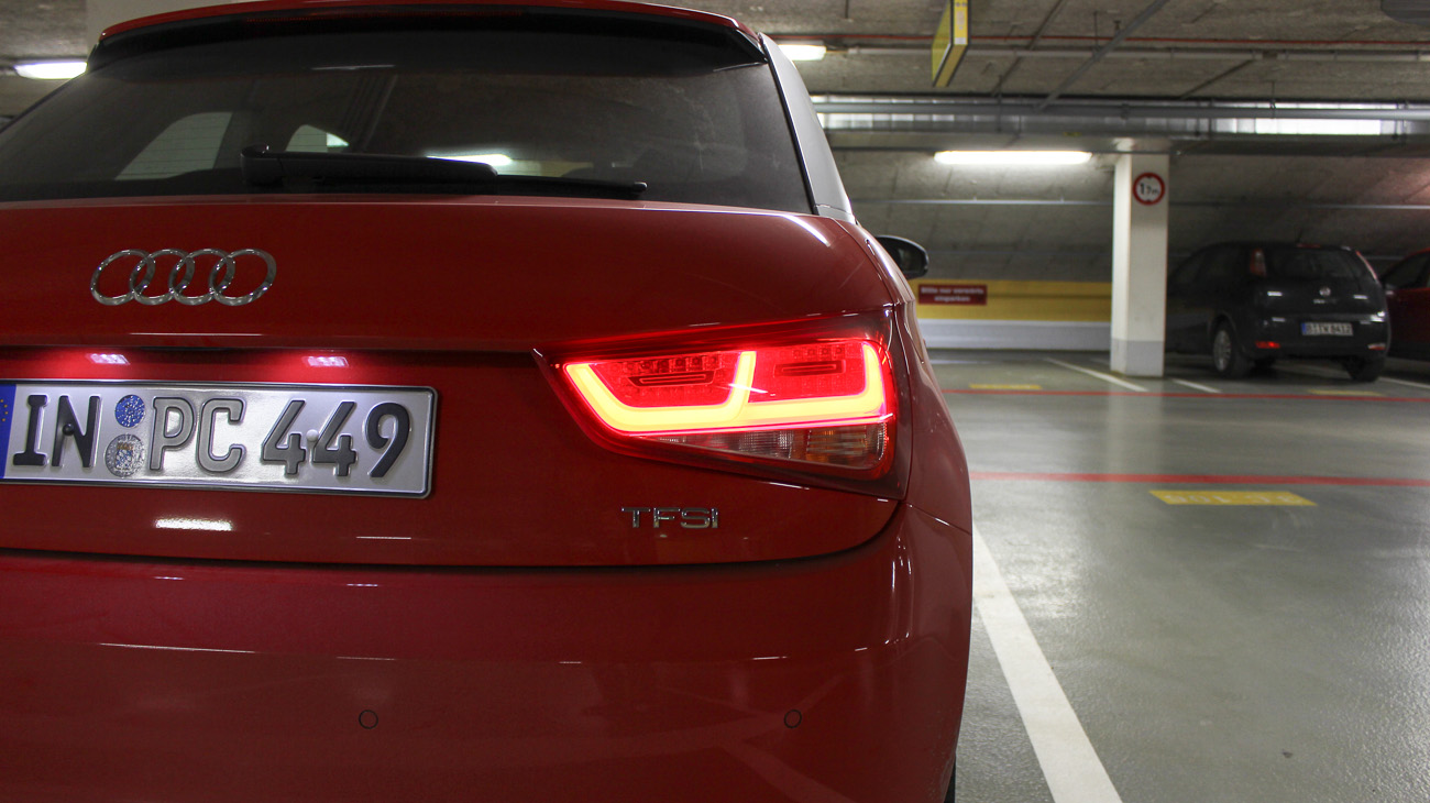 audi a1 heckleuchten led