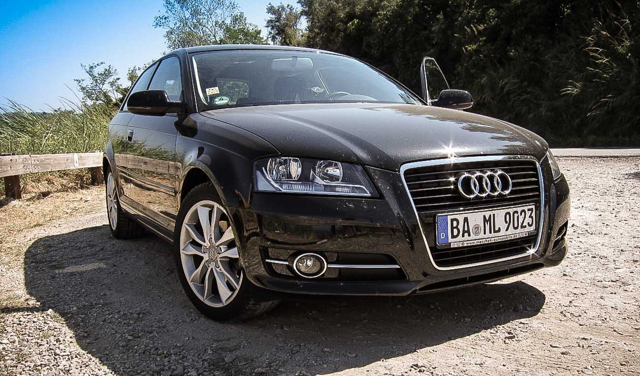 km gefahren audi a3 ambition 1 6 tdi motoreport. Black Bedroom Furniture Sets. Home Design Ideas