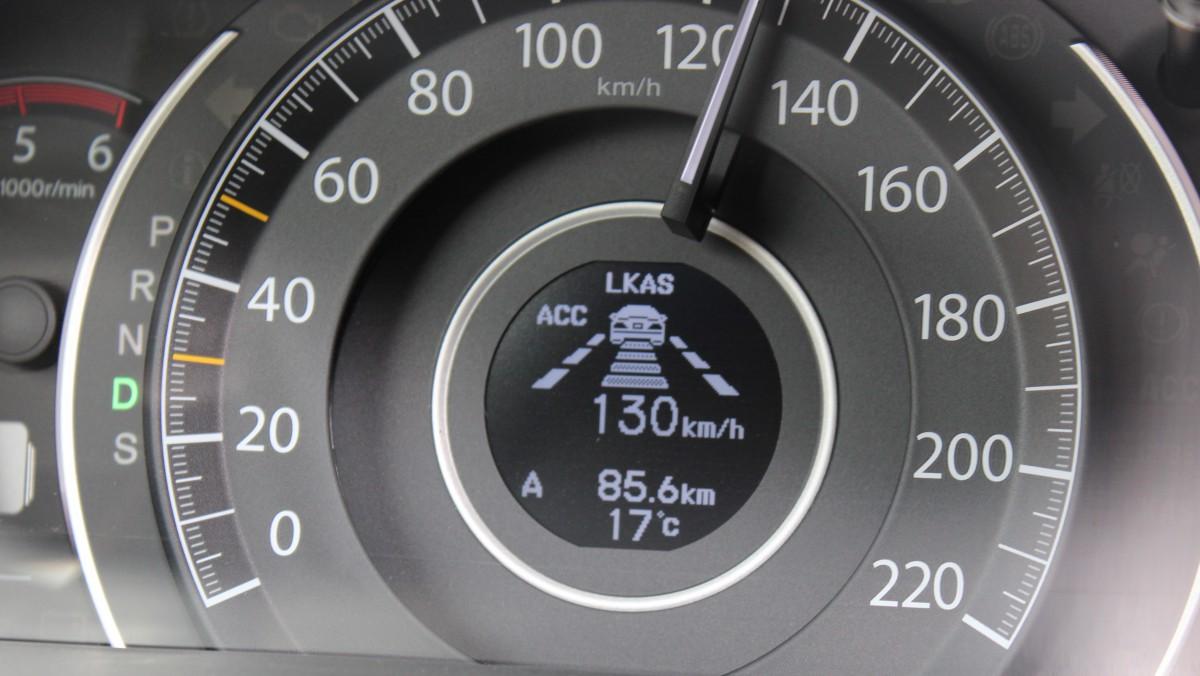 Aktuelle, herkömmliche ACC im Honda CR-V