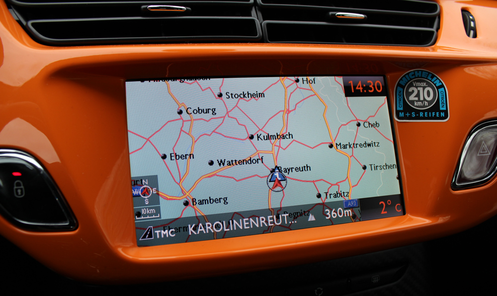citroen ds3 racing navi my way