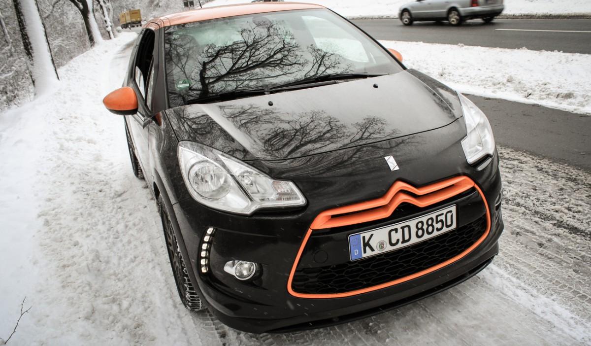 citroen ds3 racing snow