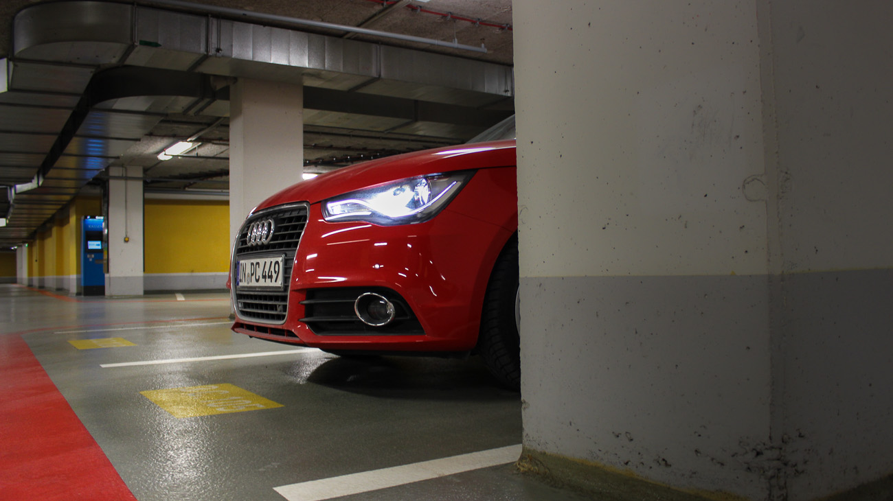 audi a1 ambition front xenon led