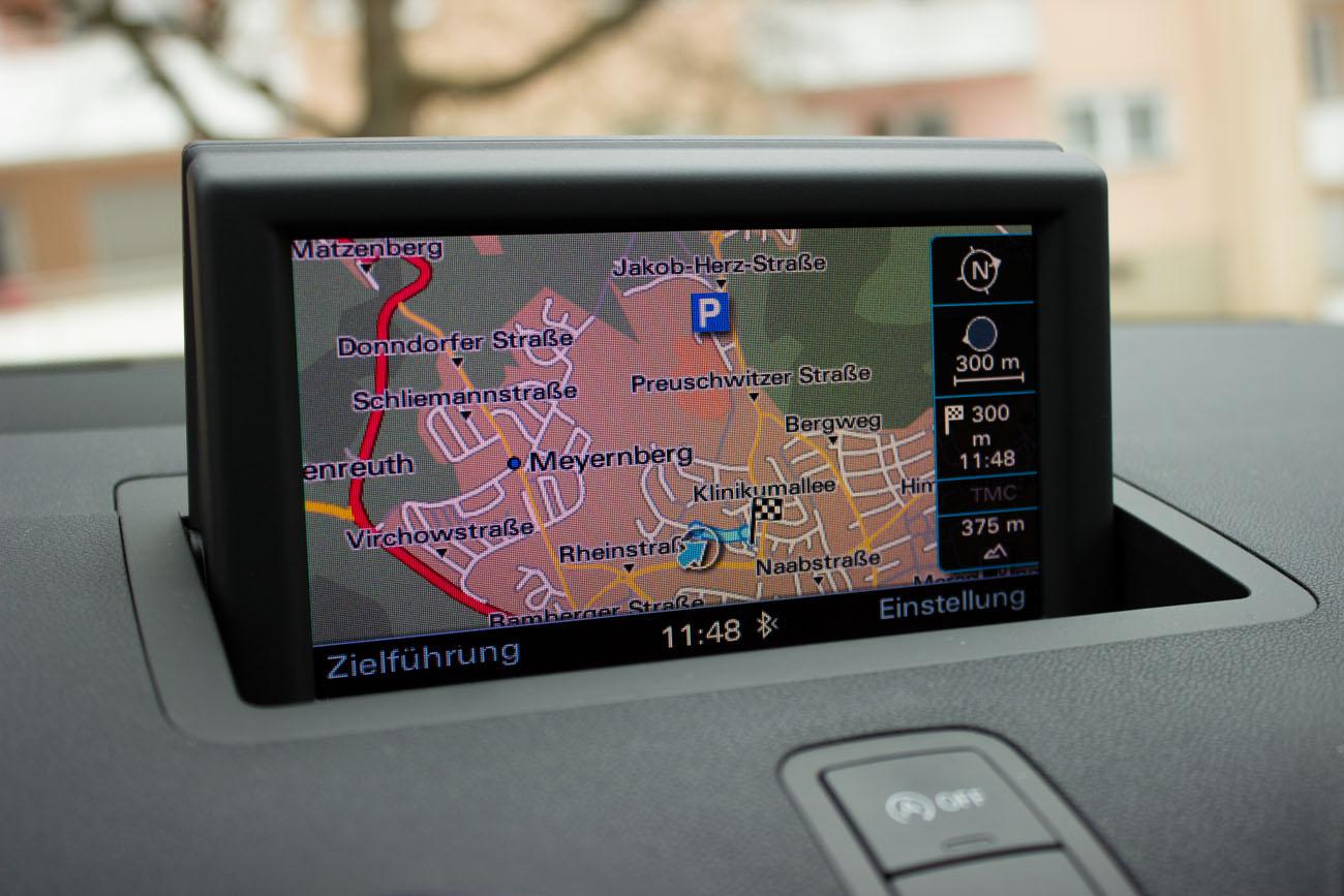 Ein hochauflösendes Display und mehr Funktionen gibt es beim MMI plus.