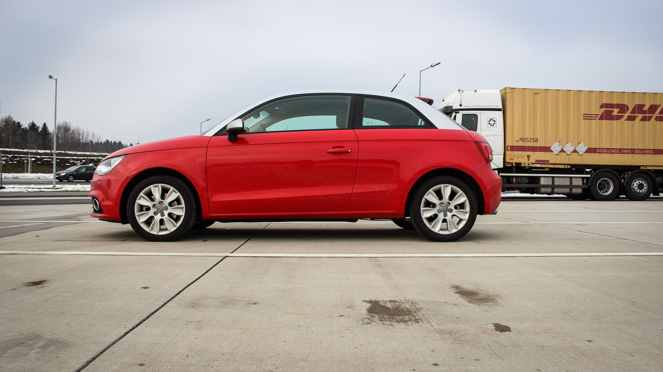 audi a1 seite misanorot