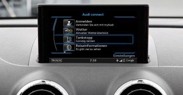 Audi connect Tankstopp
