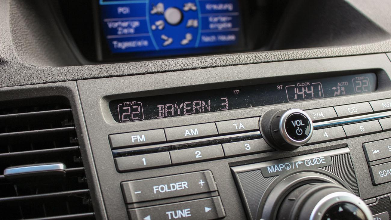 honda accord type s radio