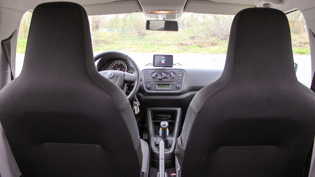 skoda citigo interieur
