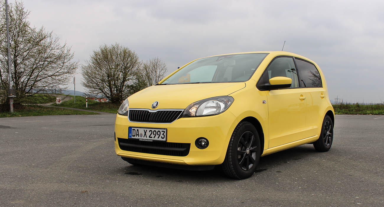 skoda citigo sunflower gelb 5 türer