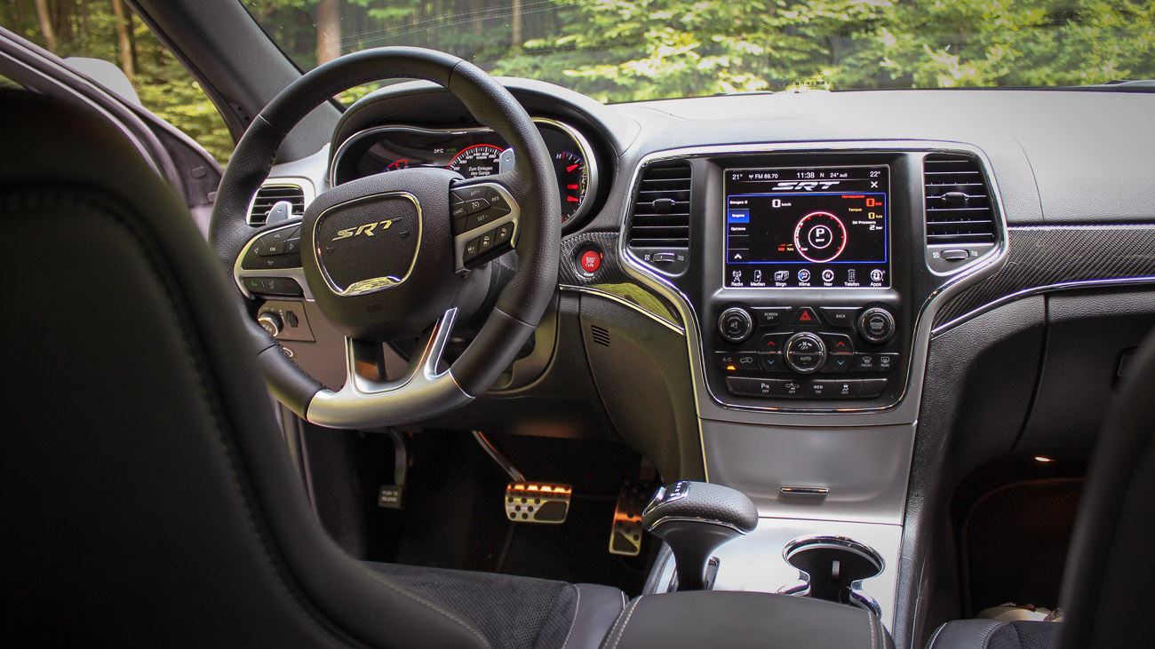 jeep grand cherokee srt 2014 innen interieur