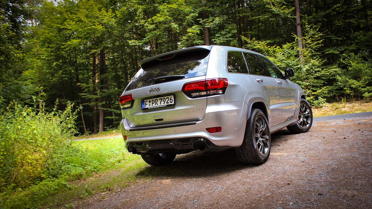 jeep grand cherokee 2014 back heck hinten