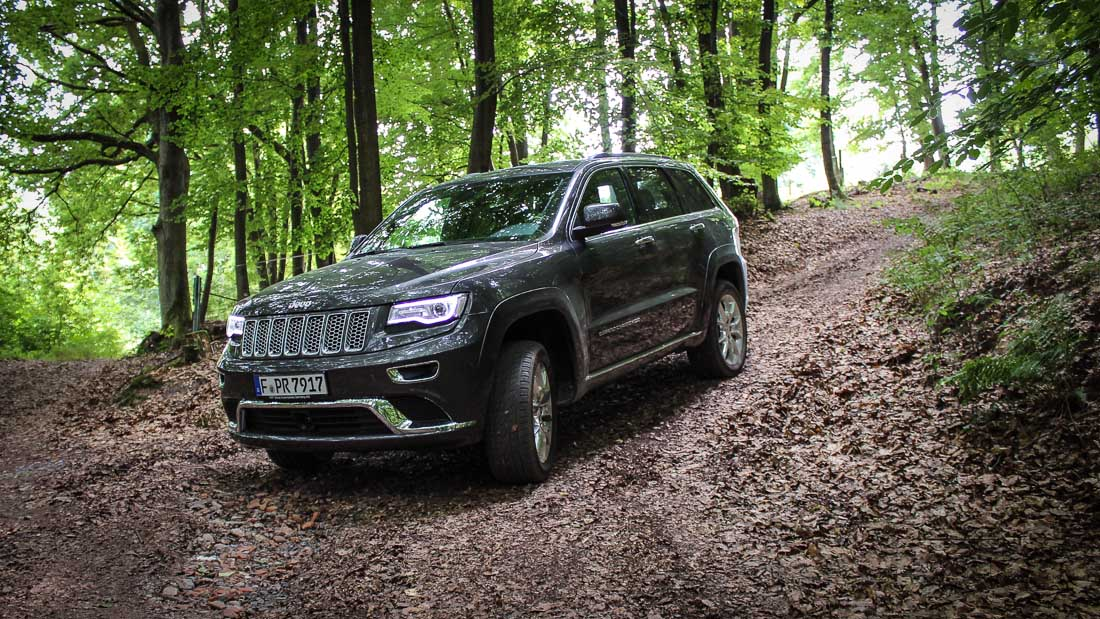 jeep grand cherokee summit offroad 2014