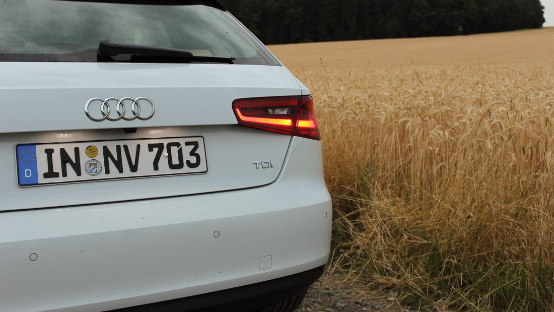 audi a3 8v heckleuchten led