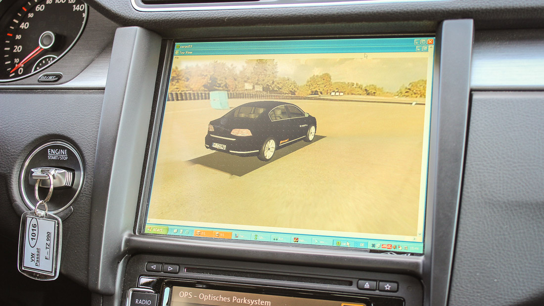 continental passat surround view