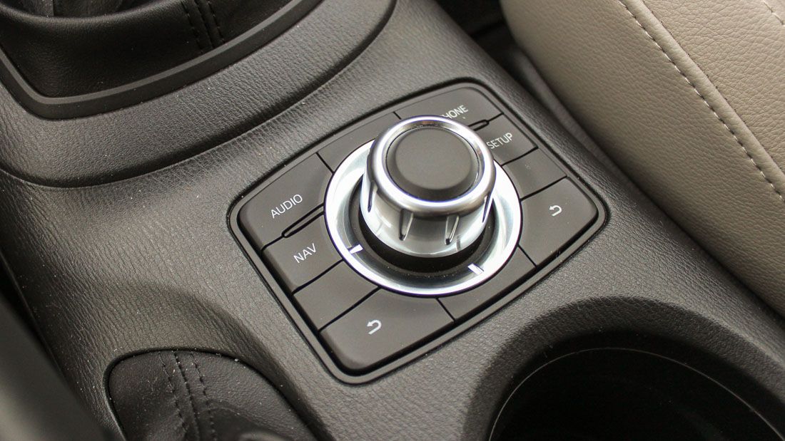mazda cx 5 infotaiment commander joystick