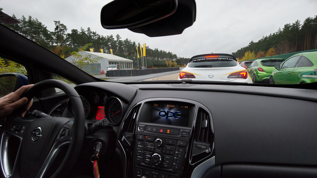 opel astra opc race interieur