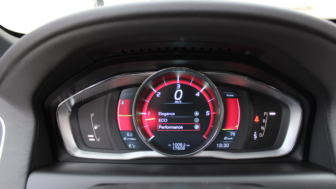 volvo xc60 digitaler tacho performance