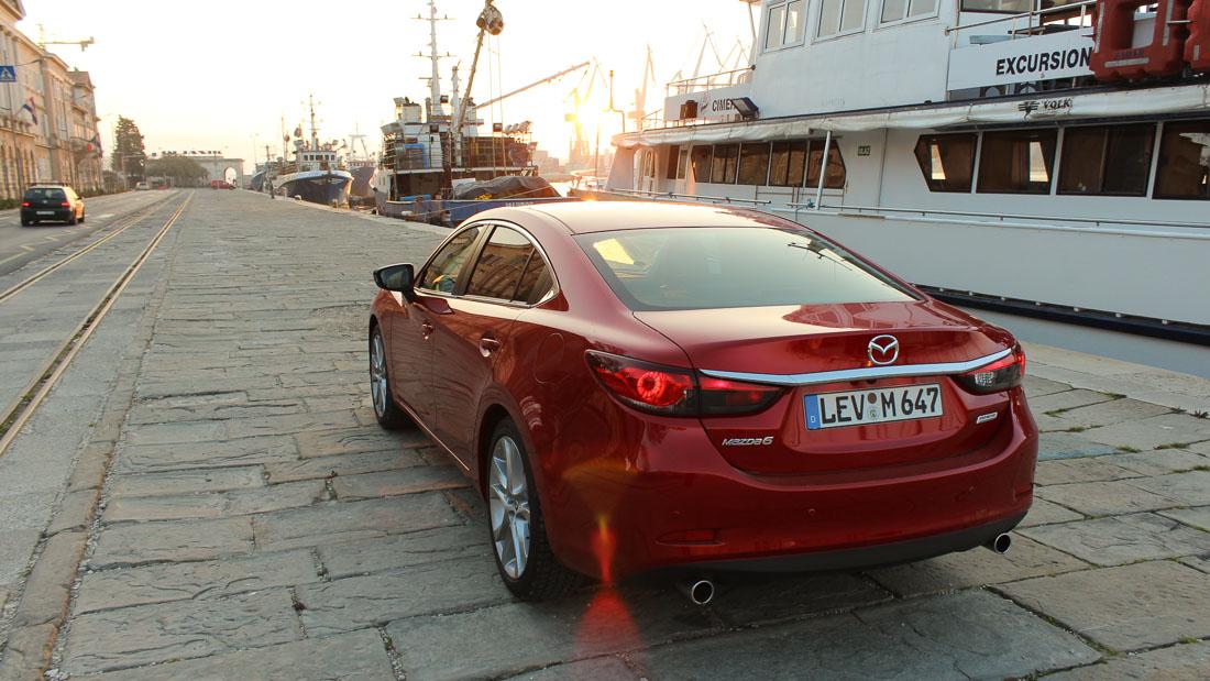 Der Mazda6: Unter den Top3 bei autoaid.de und 1300.com