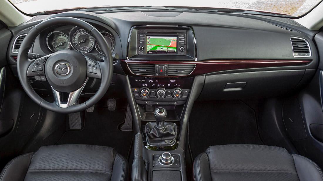 Mazda6 interieur innen