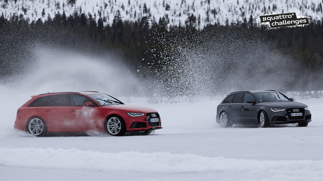 002 Spnsored Video: Audi Quattro Ice Track Challenge