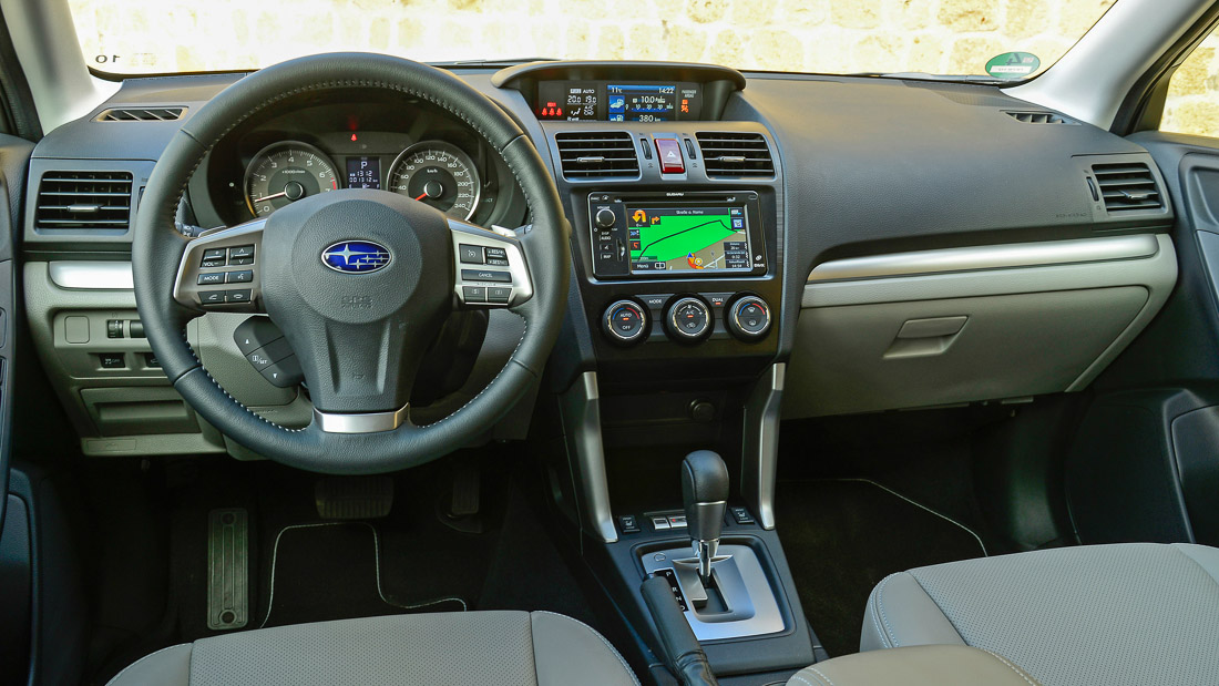 subaru forester interior 2014