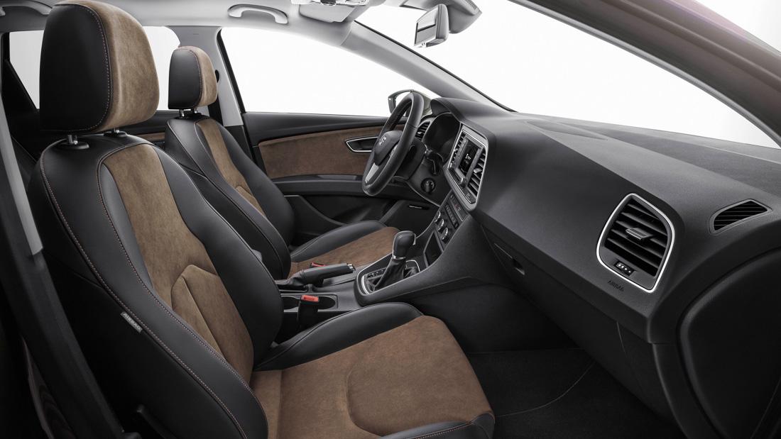seat leon xperience interior