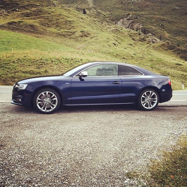 Gestern_Audi_S5_am_Jaufenpass.