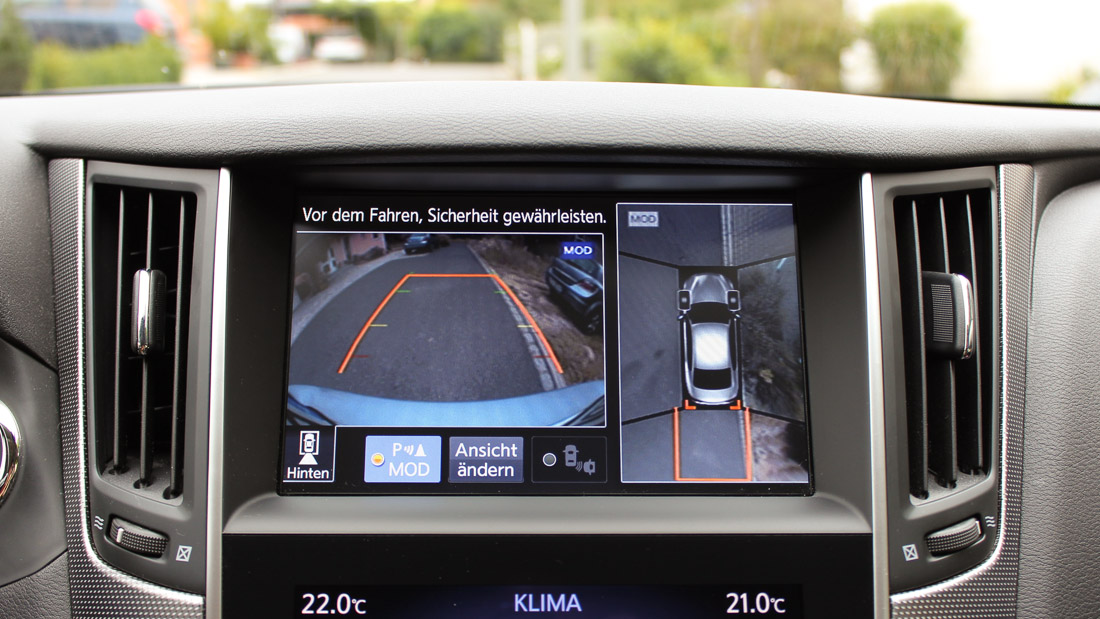 infiniti around view monitor