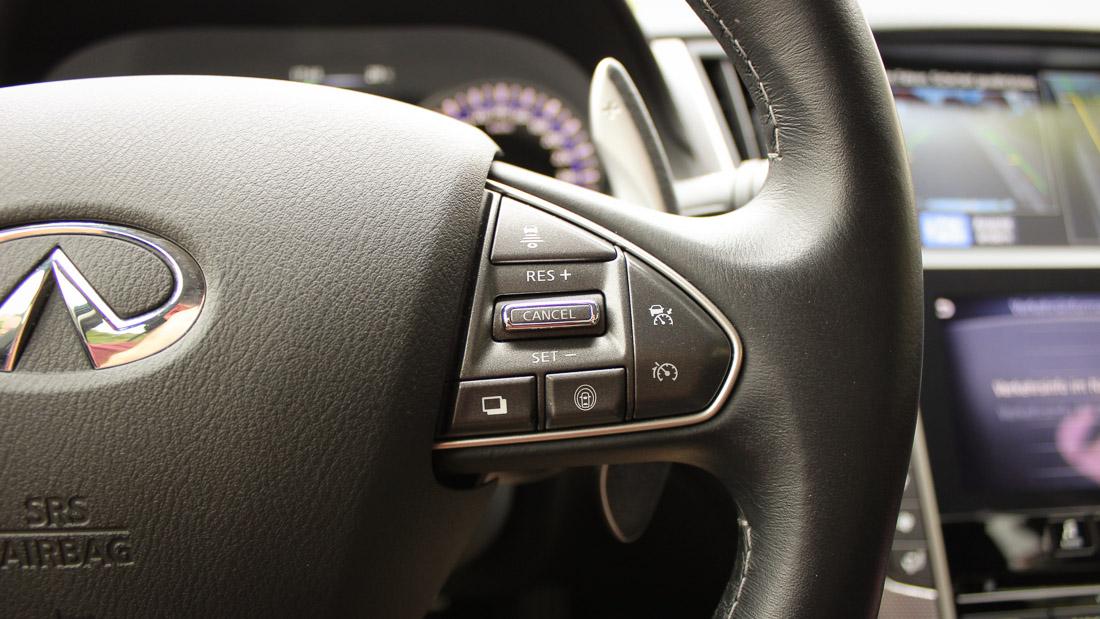 infiniti q50 steering assist