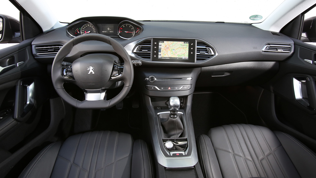 gefahren peugeot 308 blue hdi 150 allure motoreport. Black Bedroom Furniture Sets. Home Design Ideas