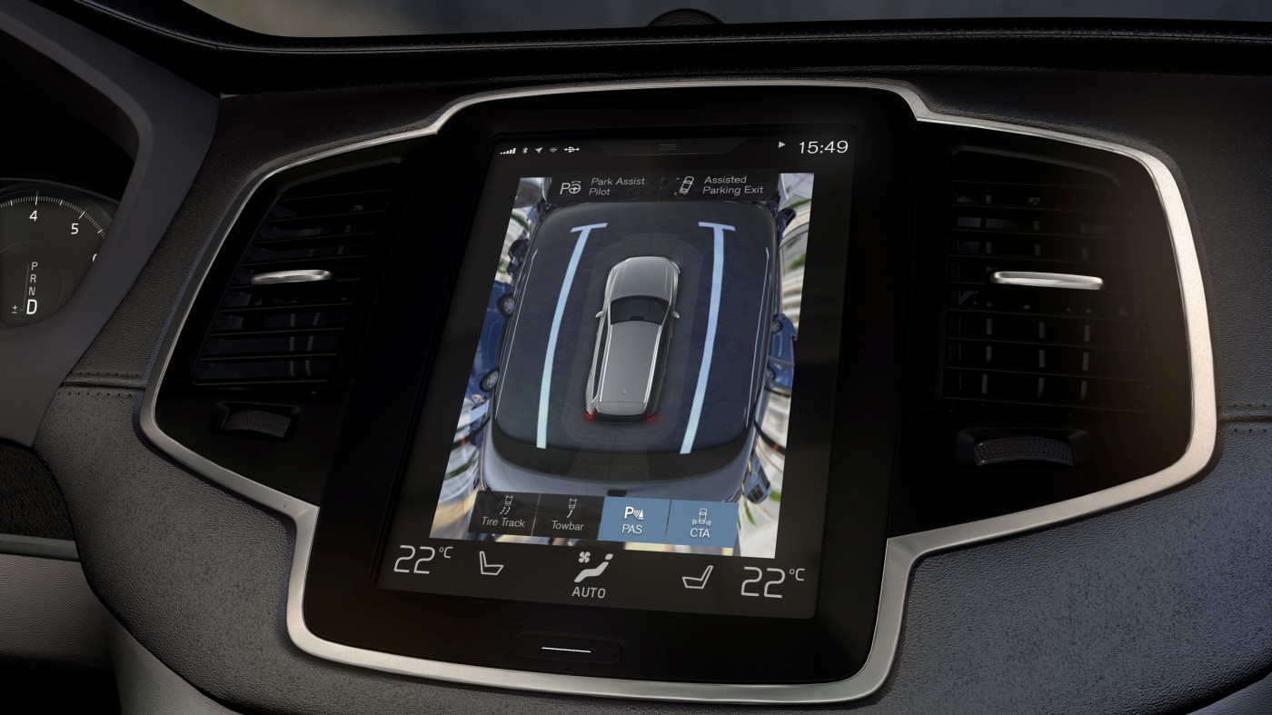 volvo xc90 surround view