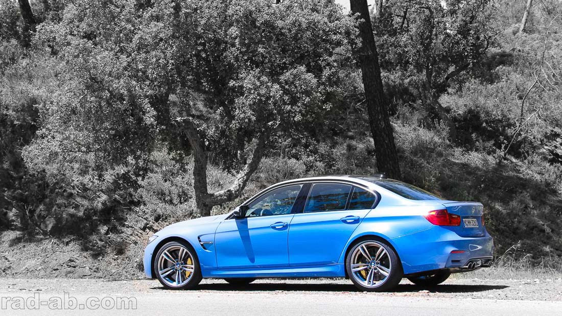 Der BMW M3 schafft es bei rad-ab.com und newcarz.de unter die Top 3 (Foto: rad-ab.com)