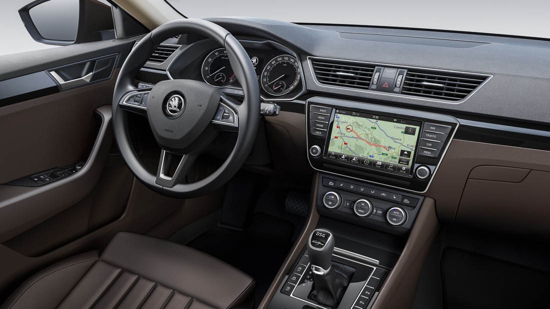skoda superb 2015 interieur