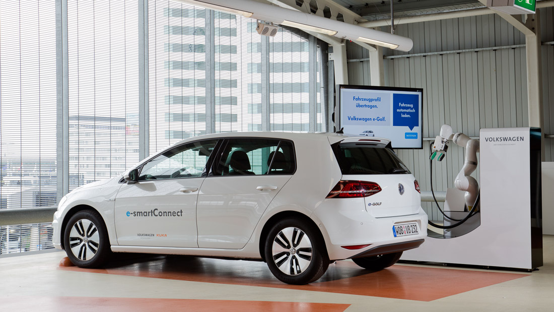 vw egolf esmartConnect
