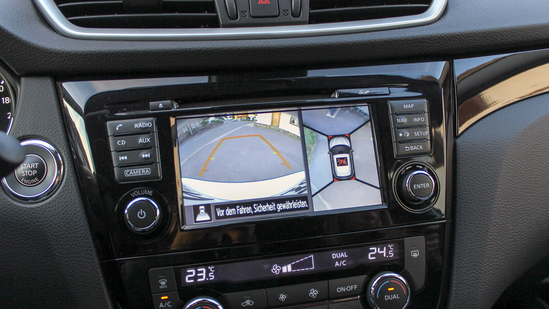qashqai AVM around view monitor