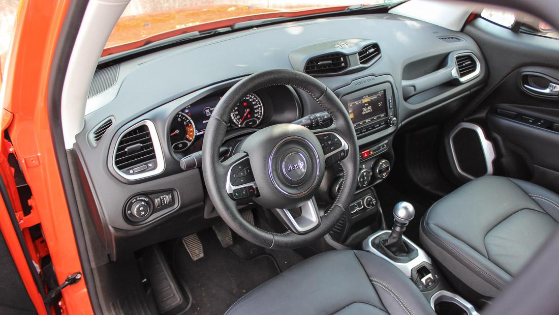 jeep renegade 2015 interieur
