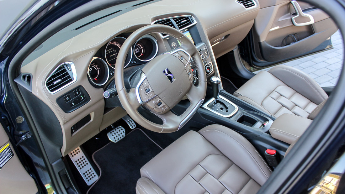 citroen ds4 interieur