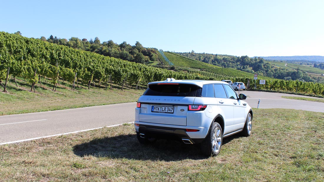 Range Rover Evoque HSE Dynamic mit 19 Zoll Bereifung