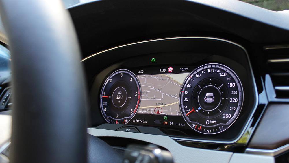 volkswagen active info display passat digitaler tacho