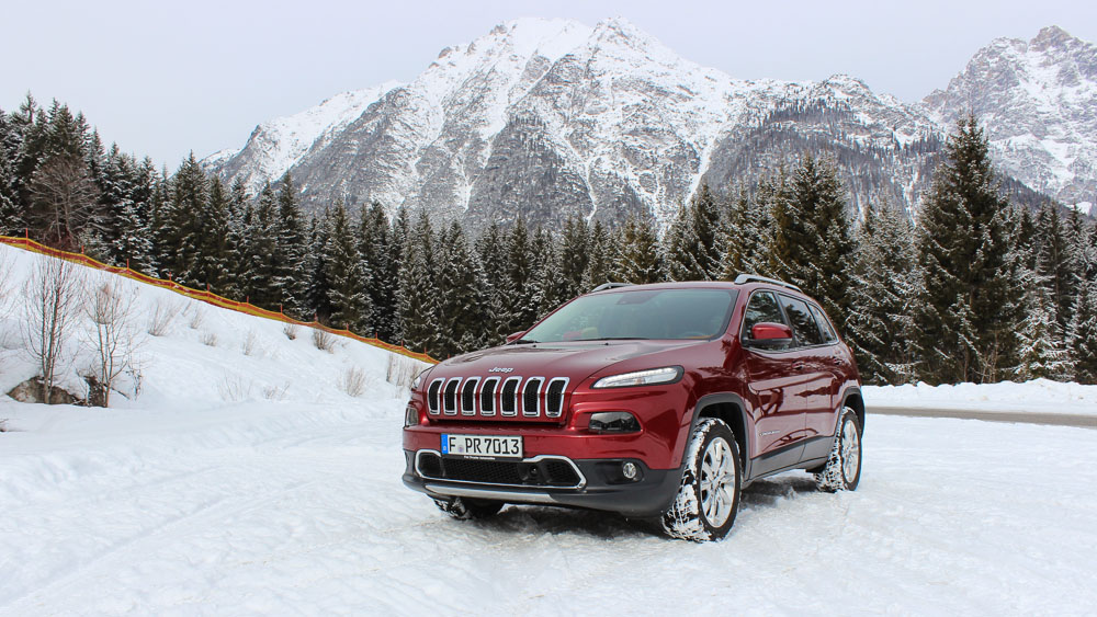 jeep cherokee deep cherry red