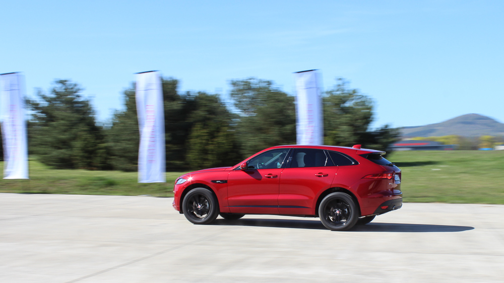 jaguar f pace italian racing red
