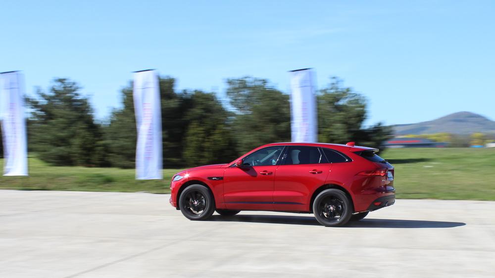 jaguar f pace italian racing red