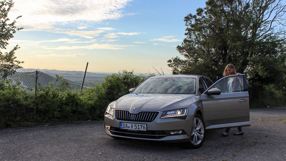 skoda superb LED scheinwerfer