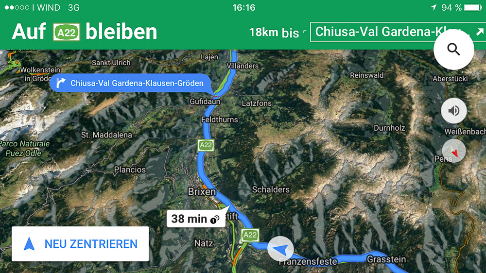 google maps navi