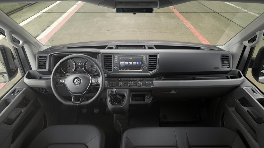 Neuer Crafter Mehr Komfort Und Fahrerassistenz