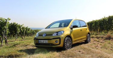 volkswagen high up yellow