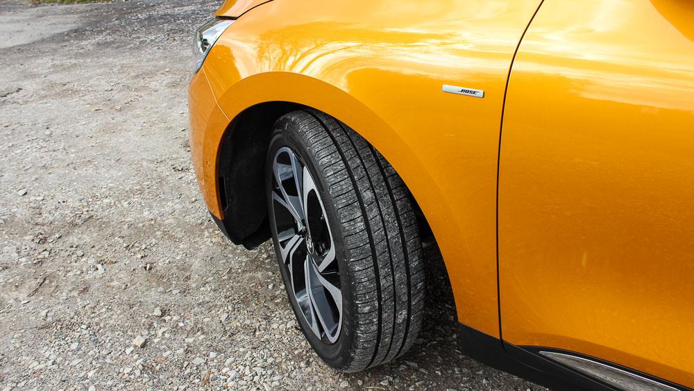 renault scenic efficiency wheels