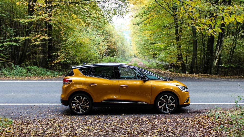renault scenic honey yellow