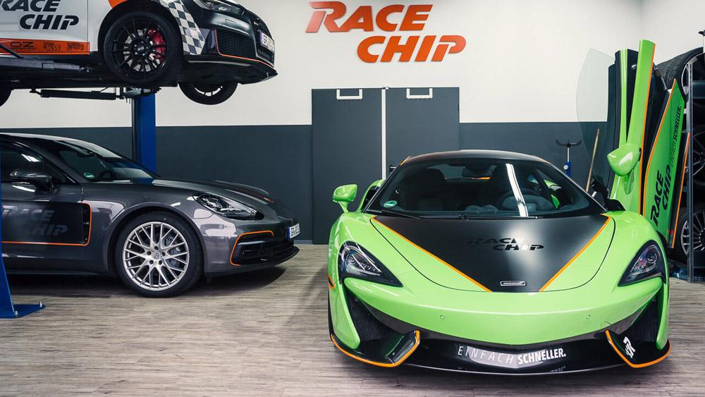 RaceChip Showcars mit SchwabenFolia-Look