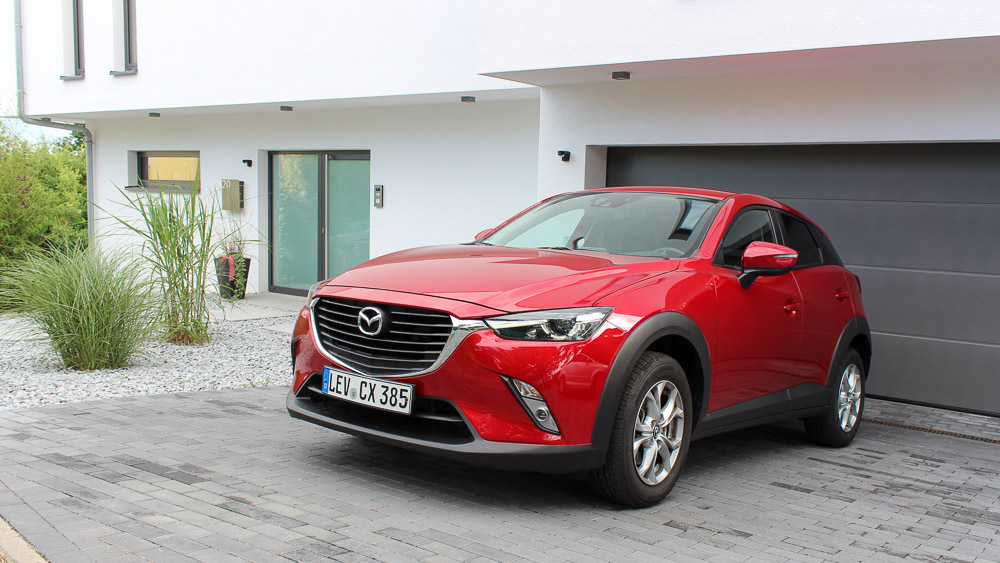 Mazda CX-3 Sports-Line in Rubinrot Metallic