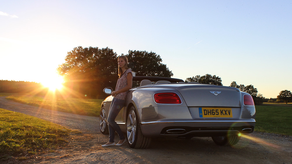Bentley Continental GTC in Extreme Silver